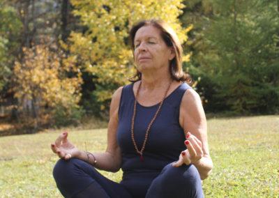 women luxury retreat yoga and meditation france